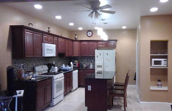 Custom Kitchen, Bathroom, Sheetrock, Drywall, Flooring, Cabinets ...